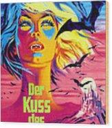 The Kiss Of The Vampire, Aka Kiss Of Wood Print