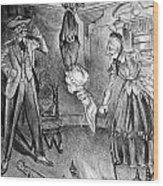The Perils Of Pauline Wood Print