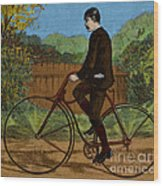 The Rover Bicycle Wood Print