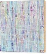 The Sounds Of Rain Wood Print