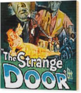 The Strange Door, Charles Laughton Wood Print by Everett