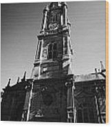 The Tron Church Edinburgh Scotland Uk United Kingdom Wood Print by Joe Fox