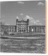 The West Virginia State Penitentiary Front Wood Print