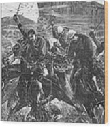 The Zulu War, 1879 Wood Print