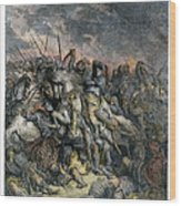 Third Crusade, 1191 Wood Print