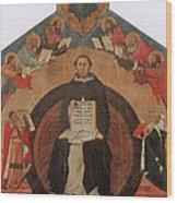 Thomas Aquinas, Italian Philosopher Wood Print