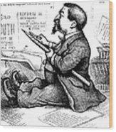 Thomas Nast (1840-1902) Wood Print by Granger