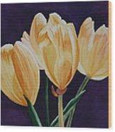Tip Toe Wood Print