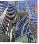 Toronto Financial Core Buildings Wood Print