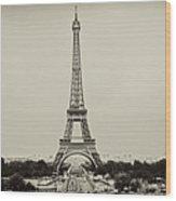 Tour Eiffel - Eiffel Tower Wood Print by Ruy Barbosa Pinto