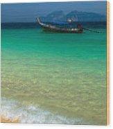 Tropical Paradise Wood Print