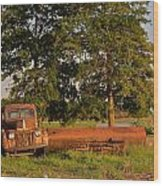 Truck And Tank 8 Wood Print