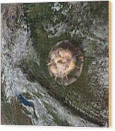 Tunguska Event Wood Print by Joe Tucciarone