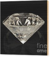 Two Karat Diamond Wood Print