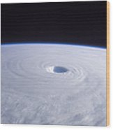 Typhoon Nabi Wood Print