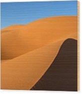 Ubari Sand Sea, Libya Wood Print by Joe & Clair Carnegie / Libyan Soup