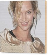Uma Thurman In Attendance For Friars Wood Print
