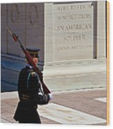 Unknown Soldier Wood Print