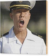 U.s. Naval Academy Midshipmen Wood Print