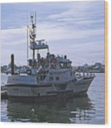 Uscg 47' Lifeboat - 1 Wood Print