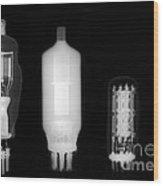 Vacuum Tube Wood Print