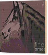 Vash The Stampede Wood Print