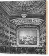 Venice: Teatro La Fenice Wood Print