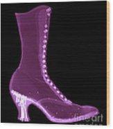 Victorian Ladies Boot Wood Print