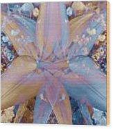 Vintage Lily Wood Print
