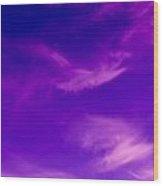 Vivid Sky Wood Print