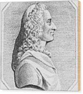 Voltaire (1694-1779) Wood Print