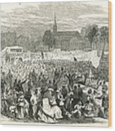 Washington: Abolition, 1866 Wood Print