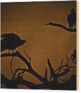 Watcher Wood Print