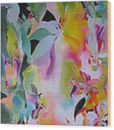 We Are The Lotus Wood Print