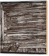 Weathered Wall In Bodie Ghost Town Wood Print