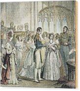 Wedding Of Queen Victoria Wood Print