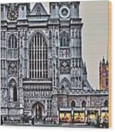 Westminster Abbey And  Victoria Tower Wood Print