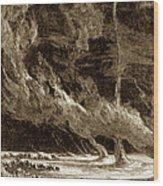 Whirlwinds, 1873 Wood Print