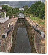 Wide Water Lock Wood Print