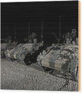 Wiesel 1 Atm Tow Anti-tank Vehicles Wood Print