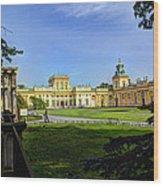 Wilanow Palace - Warsaw Poland Wood Print