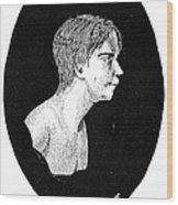 Wild Boy Of Aveyron Wood Print