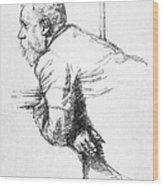 William Ernest Henley Wood Print