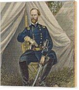 William Tecumseh Sherman Wood Print