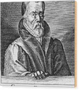 William Tyndale (1492?-1536) Wood Print