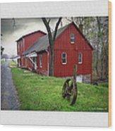 Williston Mill Wood Print