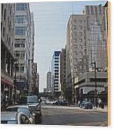 Wisconsin Ave 1 Wood Print