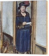 Woman: Voting, 1920 Wood Print