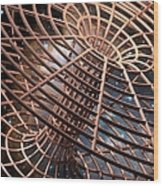 Wormhole, Conceptual Artwork Wood Print