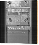 X-ray Of An Ipod Wood Print